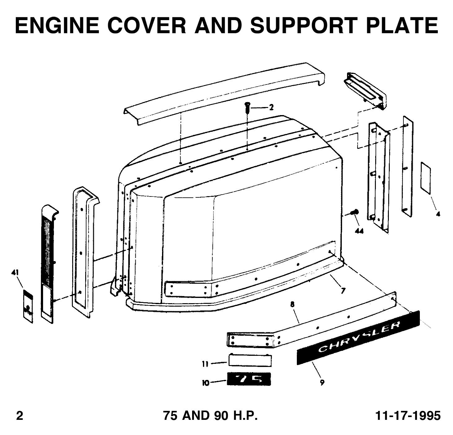 chrysler 75  90 hp  1975-1976